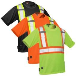 hi-viz mesh work shirt