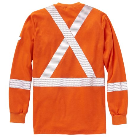 long sleeve hi viz fr shirt fire retardant