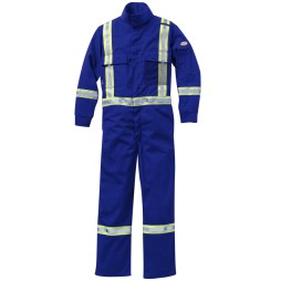 DH coverall with reflective trim