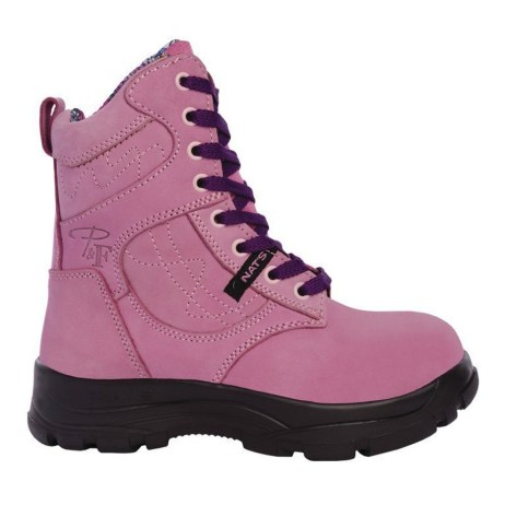 Pink Work Boot