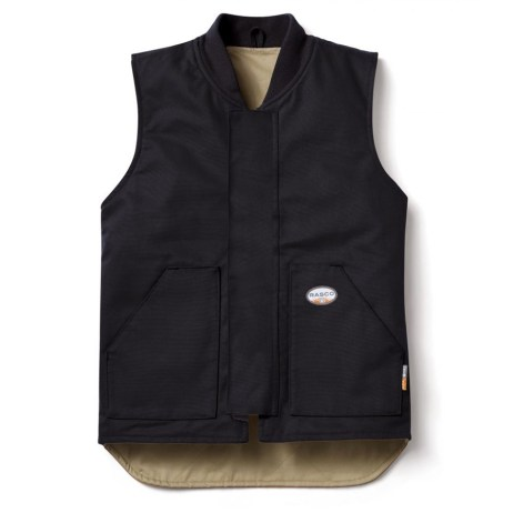 fr insulated work vest