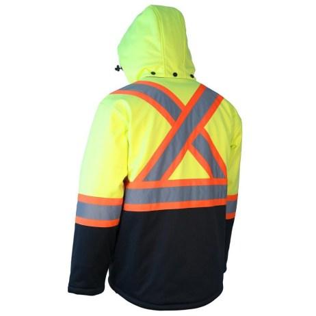 Yellow Safety Winter Jacket