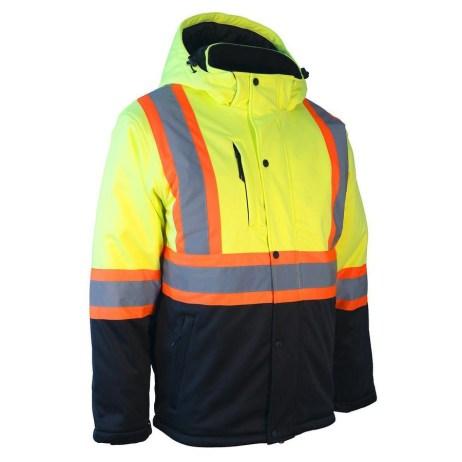 hi vis winter jacket