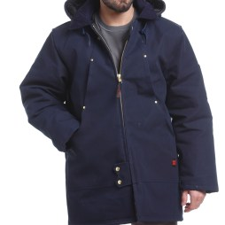 tough duck hydro parka navy