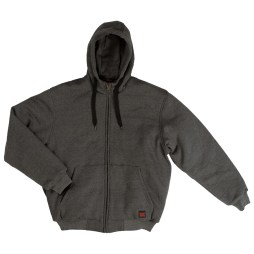 Insulated Hoodie Charcoal