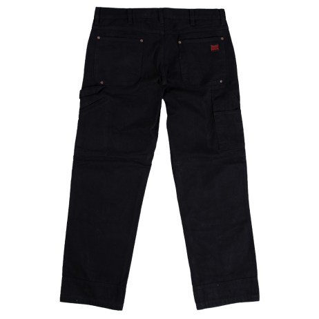 black washed duck pant