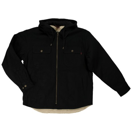 Sherpa Lined Duck Jac Shirt