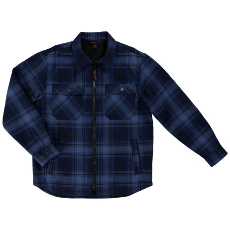 Navy Plaid Jack Shirt