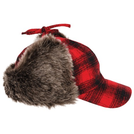 Red Plaid Hat