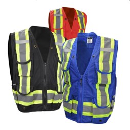 heavy duty safety cruiser vests