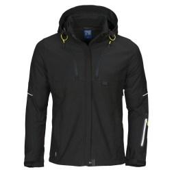 womens black softshell jacket