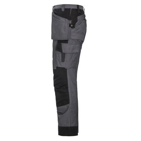 two tone multi pocket work pants