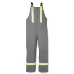 grey fr ultrasoft bib overalls