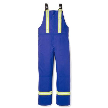 royal blue ultrasoft bib overalls