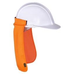Orange Hard Hat Sun Shade