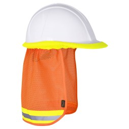Orange Hard Hat Sun Shade
