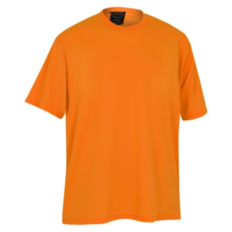 Orange Mesh Work Shirt