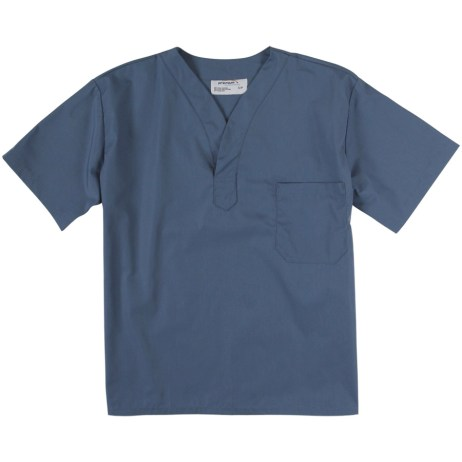 Blue Scrub Top
