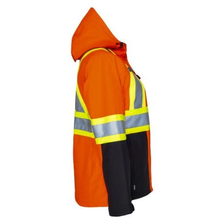 Orange 3 Layer Insulated Jacket