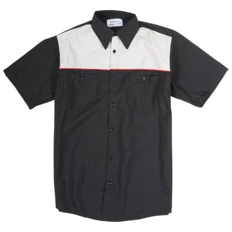 Two Tone Mechanic Shirt