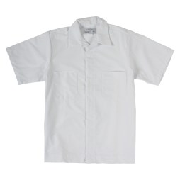 White Short Sleeve Work Shirt