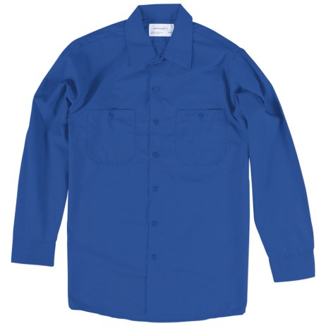 Blue Work Shirt