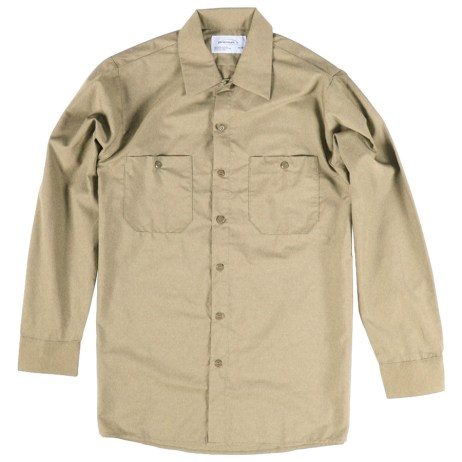 Beige Work Shirt