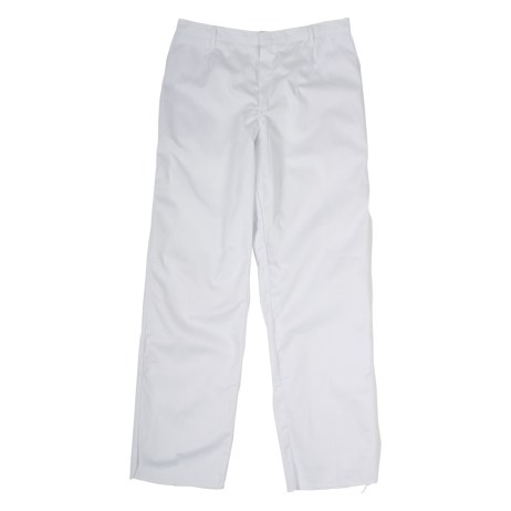 White Work Pants