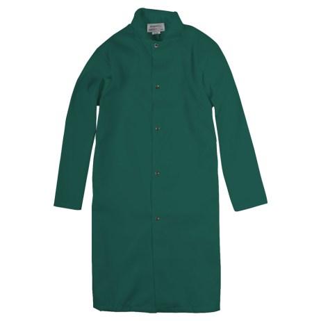 Green Food Industry Coat