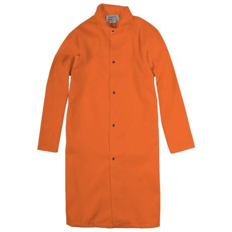 Orange Food Industry Coat
