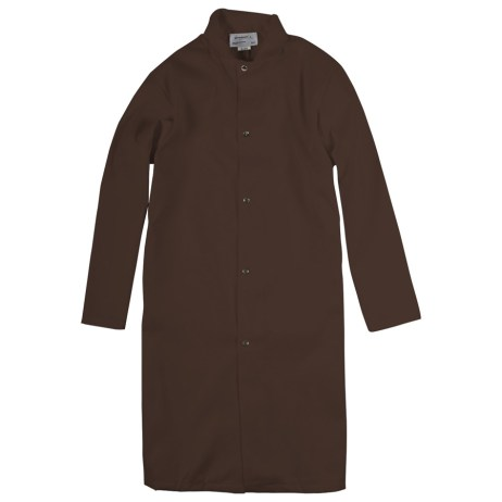 Brown Food Industry Coat
