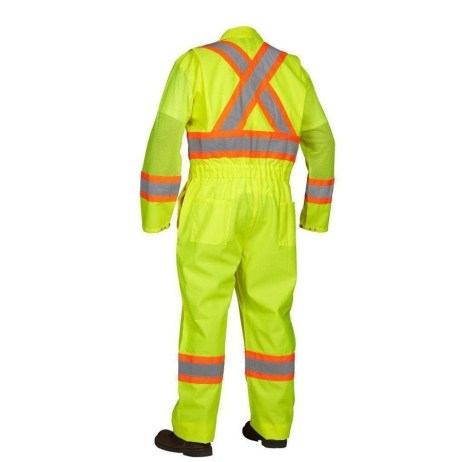 back flaggers coverall