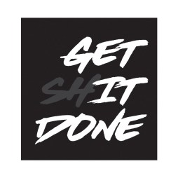 Get it done sticker