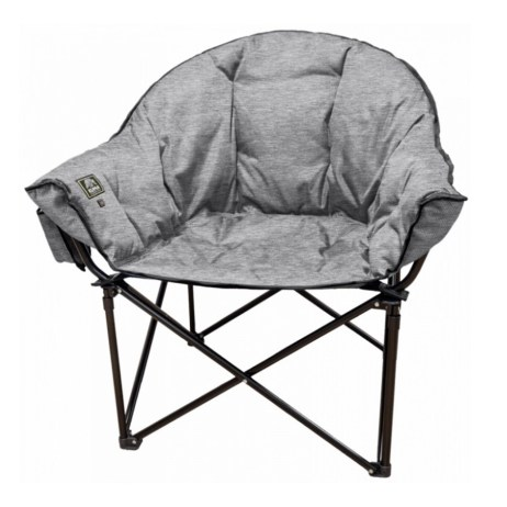 heather grey heated lazy bear chair