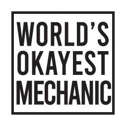 okayest mechanic sticker
