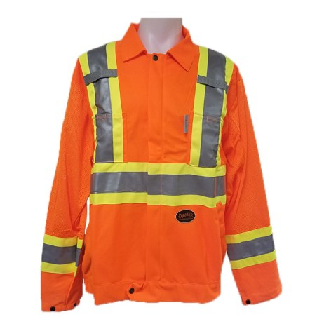orange traffic jacket