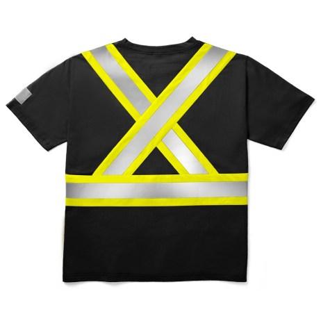 black safety tshirt