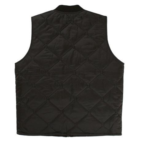 quilted vest back