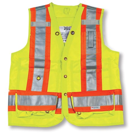 lime surveyor vest