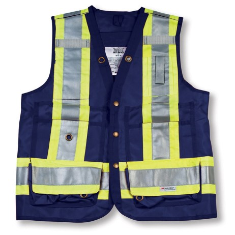 navy surveyor vest