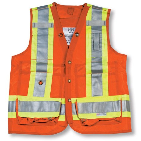 orange surveyor vest