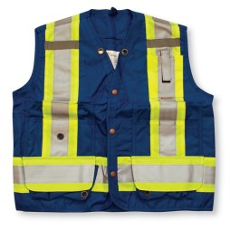 royal blue surveyor vest