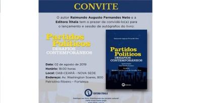 Advogado Fernandes Neto lança novo livro