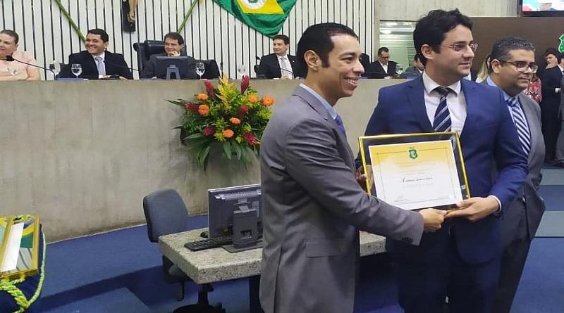 Advogado Anderson Costa homenageado pela Assembleia Legislativa do Ceará