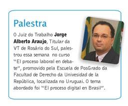 Notícia da Palestra no Uruguai
