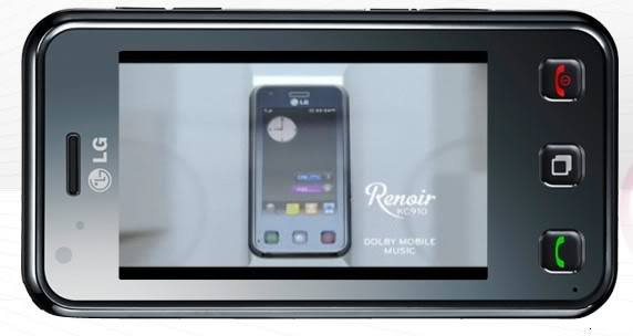 LG Renoir é lançado com uma certa dose de  polêmica