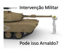 intervenção militar constitucional