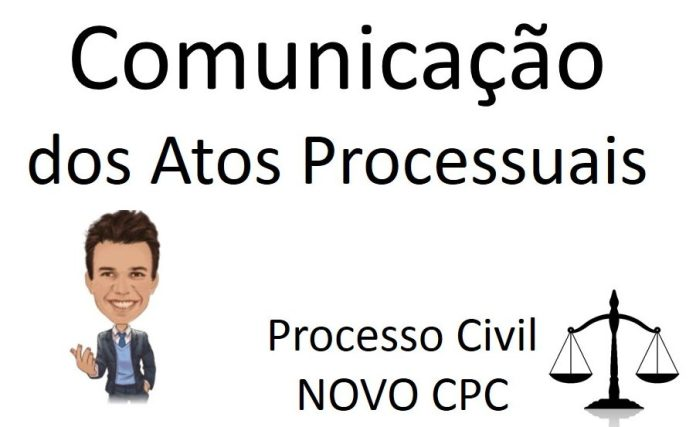 Comunicação dos atos processuais