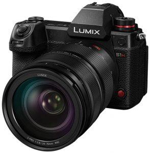 Vitrina de productos CES 2020 Panasonic-Lumix-S1H-left