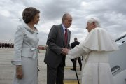 Bento XVI Rei Juan Carlos Rainha Sofia